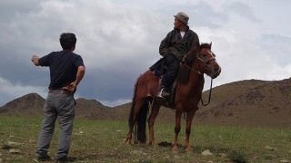 On the way,  Mongolia 2014