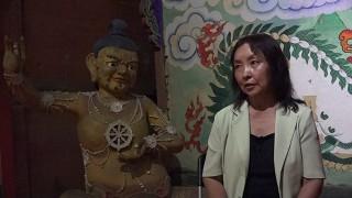 Ulambayar, former curator, Choijin Lama temple Museum